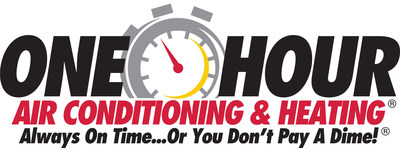 One Hour Air Conditioning & Heating (PRNewsFoto/One Hour Air Conditioning & Heat)