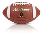 This Big Game football is equipped with gametag(TM) and can provide a complete historical timeline of the ball. All  gametag(TM) balls have a story of their own that can be accessed via the gametag(TM) app. (PRNewsFoto/Big Game USA)