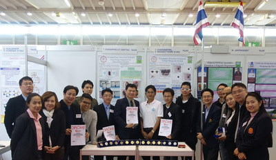 Thammasat teams put forth a very impressive showing at the 43rd International Exhibition of Inventions of Geneva