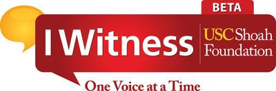 IWitness Video Challenge. (PRNewsFoto/USC Shoah Foundation Institute) (PRNewsFoto/USC SHOAH FOUNDATION INSTITUTE)