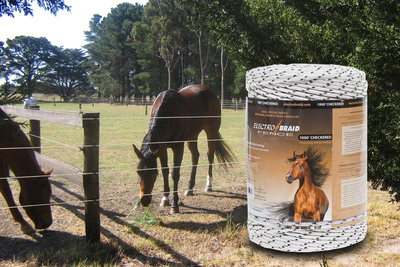 ElectroBraid(R) Helps Non-profits Keep Horses Safe.  (PRNewsFoto/Woodstream Corporation)
