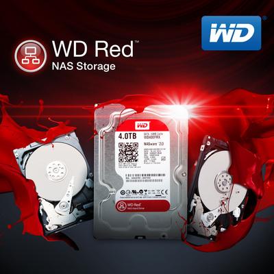 WD Red NAS hard drives.  (PRNewsFoto/WD)