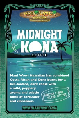 Midnight Kona Coffee Available for a Limited Time at Maui Wowi and Online!