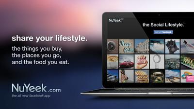 Share your lifestyle.  (PRNewsFoto/NuYeek)