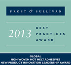 Innovation with Impact. Frost Sullivan recognizes H.B. Fuller with prestigious innovation leadership award for the development and successful commercialization of two nonwoven, next generation, olefin based hot melt adhesive products.  (PRNewsFoto/H.B. Fuller Company)