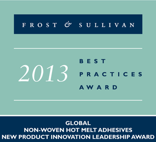 Innovation with Impact. Frost Sullivan recognizes H.B. Fuller with prestigious innovation leadership award for the development and successful commercialization of two nonwoven, next generation, olefin based hot melt adhesive products. (PRNewsFoto/H.B. Fuller Company) (PRNewsFoto/H.B. FULLER COMPANY)