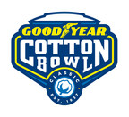 The official logo of the 2015 Goodyear Cotton Bowl Classic.