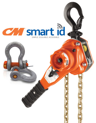 "Columbus McKinnon introduces CM Smart ID™ radio frequency identification (RFID) technology on hoists and rigging products. CM Smart ID is available standard on all CM Bandit ratchet lever hoists for the U.S. market – making it the world's first HMI-Certified ratchet lever hoist with RFID technology. It will also be offered as an option on select CM shackles as small as 1/2"". When integrated with a complete inventory and inspection management system, CM Smart ID can enable: faster inventory tracking and serialization; more efficient safety inspections; and improved inventory and inspection data accuracy."