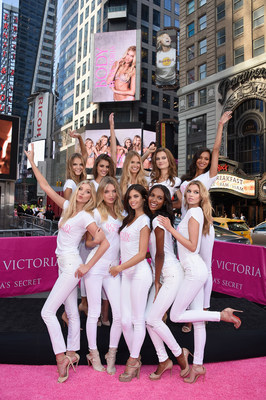 The Newest Victoria's Secret Angels Landed in Times Square to Celebrate the New Body by Victoria Campaign