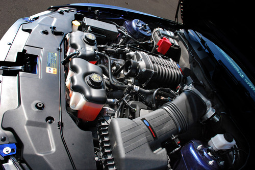 Ford Racing Reveals Supercharger for 2011 5.0L TiVCT at Woodward Dream Cruise