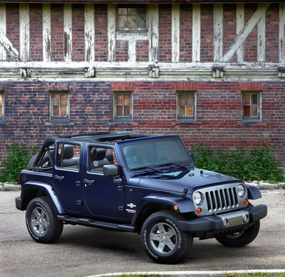 The 2012 Jeep Wrangler Unlimited Freedom Edition.  (PRNewsFoto/Chrysler Group LLC)