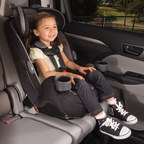 Dorel Juvenile's Safety 1st Grow and Go(TM) 3-in-1 Convertible Car Seat, accommodates children from five pounds up to 100 pounds, making it easier and more affordable to keep children in child restraints for longer.