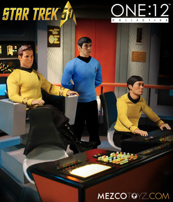"The new line of collector-grade, Star Trek action figures from The One:12 Collective is a ""game changer"" according to collectors."