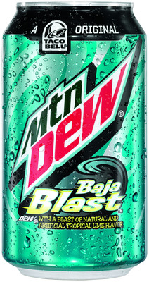 Road Runner Auto Sales >> Mountain Dew® Bottles Taco Bell® Blockbuster, Mtn Dew® Baja Blast™, For Limited Time Only