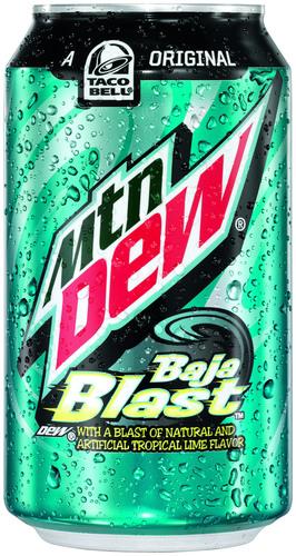 MTN DEW BAJA BLAST 12 OZ IMAGE (PRNewsFoto/PepsiCo)