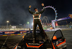 Subaru Driver Bucky Lasek claims his third Red Bull GRC Podium in Las Vegas.