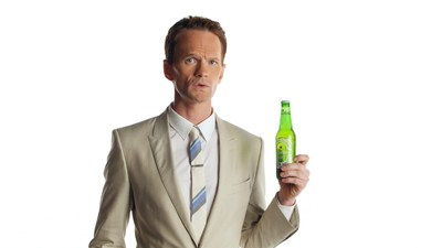 "Neil Patrick Harris stars in Heineken Light's new ""Best Tasting Light"" campaign. (PRNewsFoto/Heineken USA)"