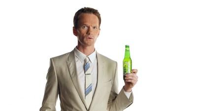 """Neil Patrick Harris stars in Heineken Light's new """"Best Tasting Light"""" campaign."""
