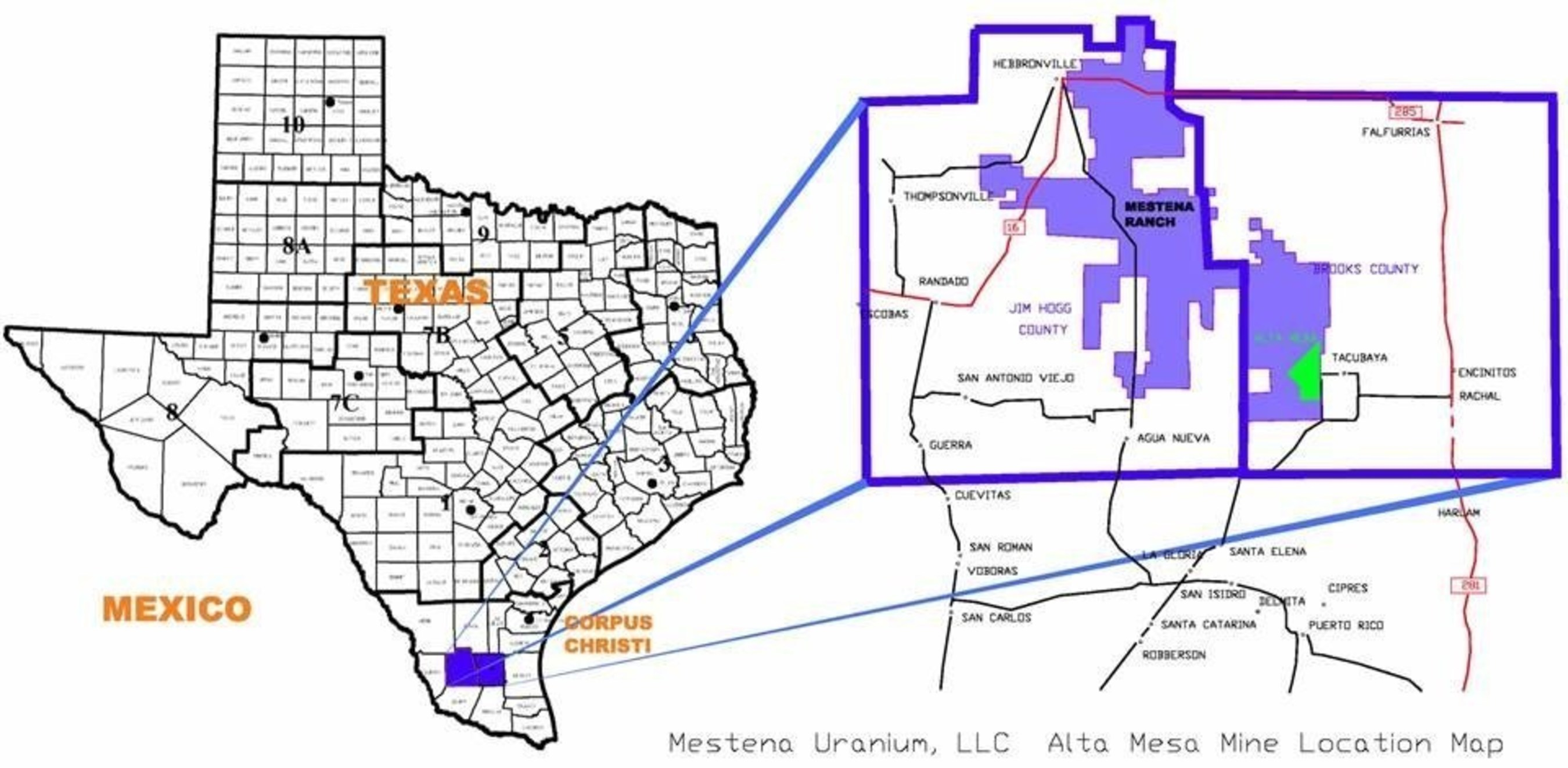 Energy Fuels to Increase Lower-Cost ISR Uranium Production Profile through Acquisition of Mesteña