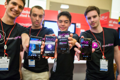 A group of students from the United Kingdom won $50,000 as the first-place winners of the Microsoft Imagine Cup  ...