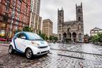 car2go autopartage Introduces a New Way of Carsharing in Montreal.  (PRNewsFoto/car2go Canada, Ltd.)