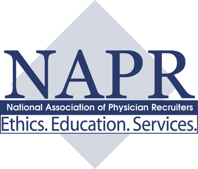 National Association of Physician Recruiters. (PRNewsFoto/National Association of Physician Recruiters) (PRNewsFoto/NAPR)