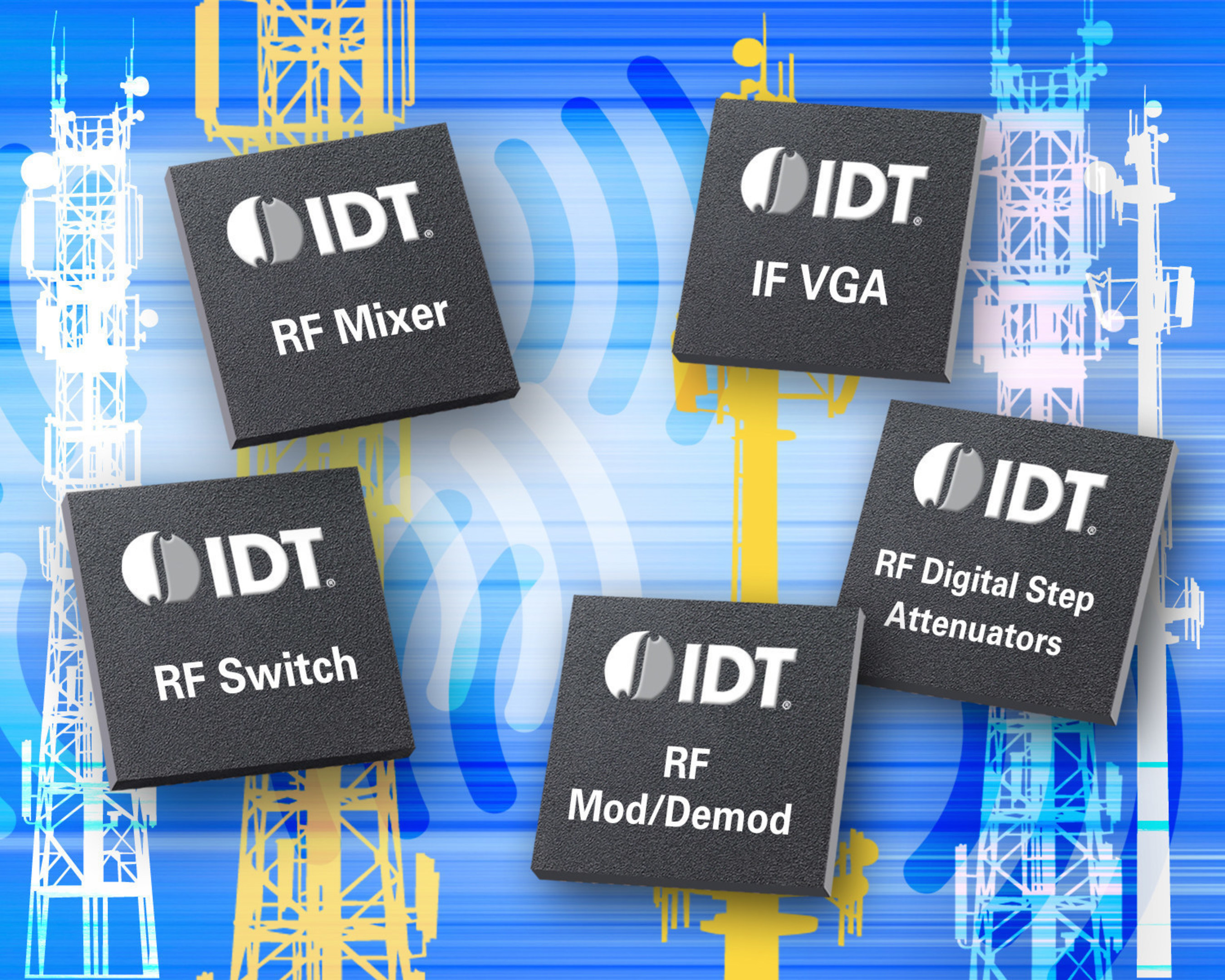 Idt And Richardson Electronics Team For Global Distribution Of Rf Digital Vga Switch Products