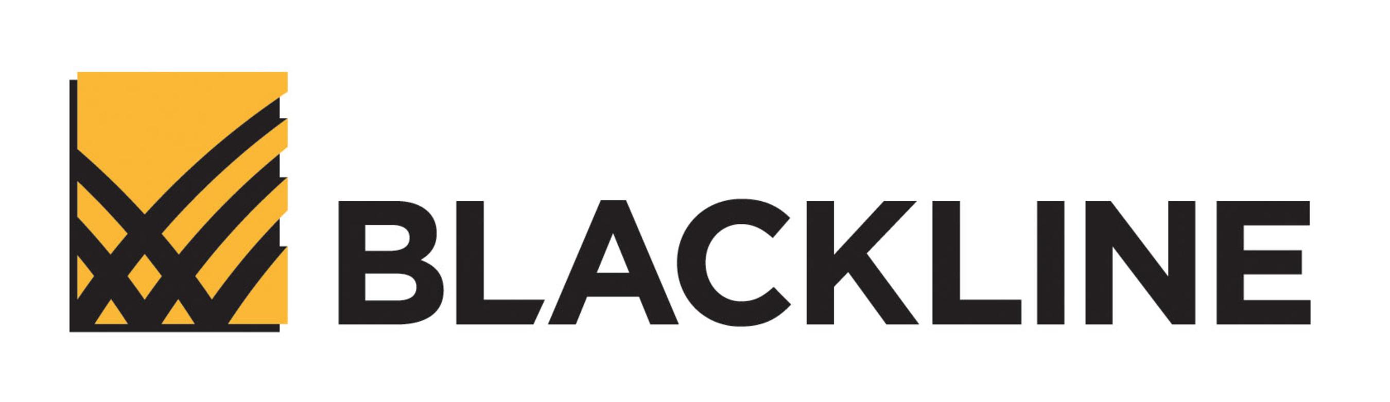 BlackLine company logo.
