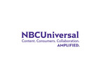 """NBCUniversal - Content. Consumers. Collaboration. Amplified.""   (PRNewsFoto/NBCUniversal)"