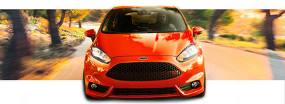 The 2015 Ford Fiesta is capable of delivering some impressive fuel economy ratings. (PRNewsFoto/Matt Ford)