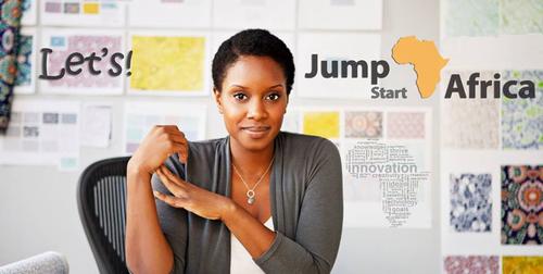Let's Jumpstart Africa!  (PRNewsFoto/Jumpstart Africa)