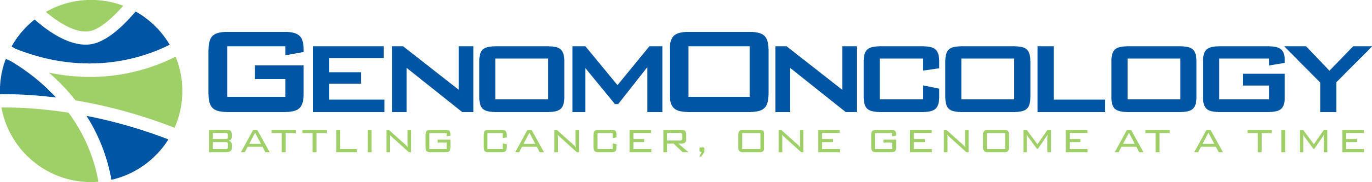 GenomOncology Logo.