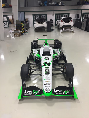 Low T Center to co-sponsor car at historical 100th Indy 500 Race on May 29th at Indianapolis Motor Speedway.