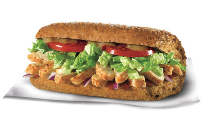 Quiznos Honey Bourbon Chicken