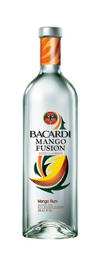 BACARDI(R) Mango Fusion(TM) Flavored Rum is a one of a kind fusion of mango and orange rums. (PRNewsFoto/Bacardi U.S.A., Inc.)