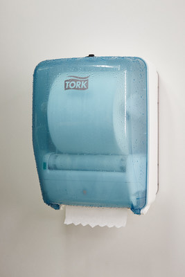 SCA(R) unveils its latest innovation for food processing environments at IPPE 2016: the Tork(R) Washstation Dispenser.