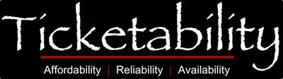 Affordability, Reliability, and Availability at Ticketability.com. (PRNewsFoto/Ticketability, LLC) (PRNewsFoto/TICKETABILITY, LLC)