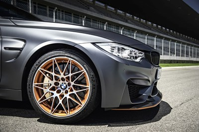 The MICHELIN Pilot Sport Cup 2 tyre will be the sole original equipment fitment on the new limited special model BMW M4 GTS (PRNewsFoto/Michelin AIM)