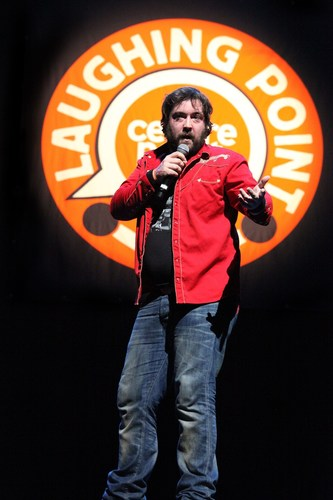 Nick Helm at Laughing Point, Image Harriet Armstrong (PRNewsFoto/Centrepoint Charity) (PRNewsFoto/Centrepoint Charity)
