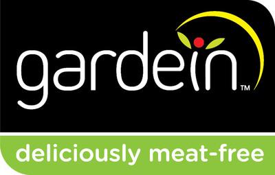 Gardein (garden + protein). Deliciously Meat-Free.  www.gardein.com.  (PRNewsFoto/gardein)