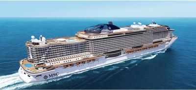 """Today MSC Cruises signed a contract with Fincantieri for the construction of two new cruise ships with an option for one more. The new prototype will be named """"Seaside"""" and will be the largest cruise ship ever built by Fincantieri. (PRNewsFoto/MSC Cruises USA)"""