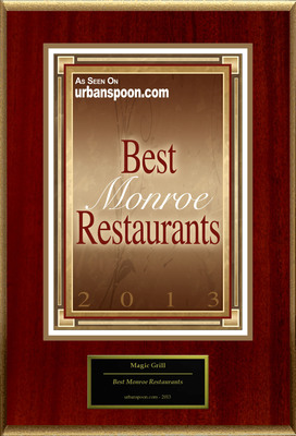 "Magic Grill Selected For ""Best Monroe Restaurants"""