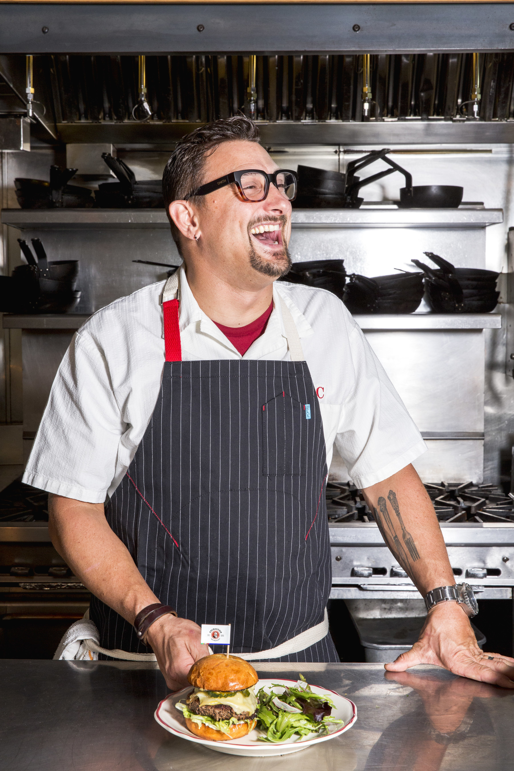 Chef Chris Cosentino, Cockscomb