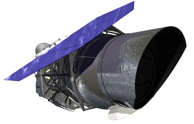 NASA's Wide Field Infrared Survey Telescope (WFIRST), illustrated here, will carry a Wide Field Instrument to capture Hubble-quality images covering large swaths of sky, enabling cosmic evolution studies. Its Coronagraph Instrument will directly image exoplanets and study their atmospheres.