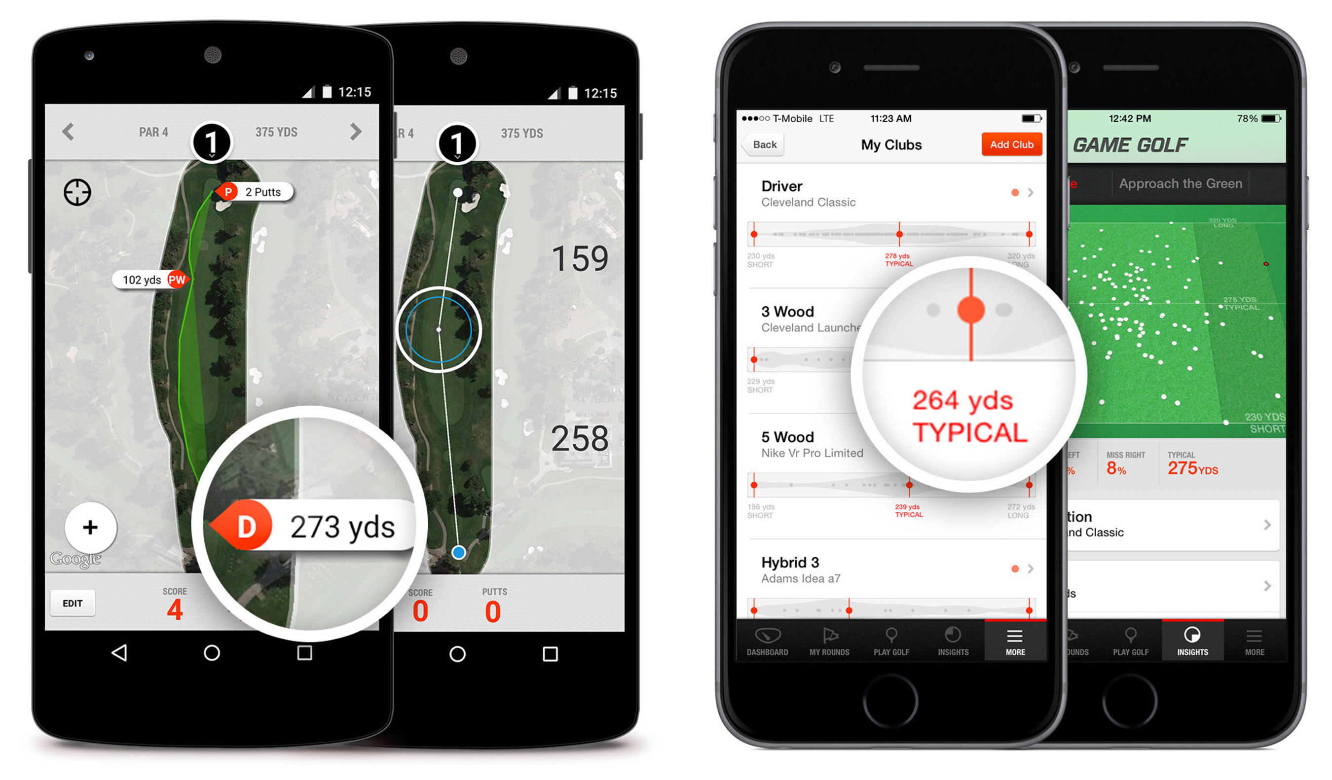 GAME GOLF Launches Free App Featuring Real-Time Shot, Game