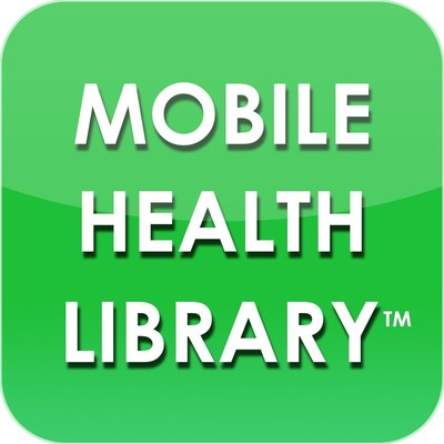 Mobile Health Library. (PRNewsFoto/Adherent Health, LLC)