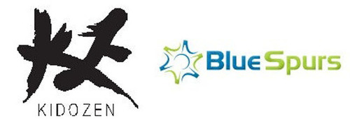 KidoZen and BlueSpurs Partnership.(PRNewsFoto/KidoZen Inc)