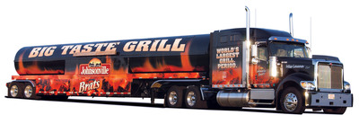The Johnsonville Big Taste Grill Kicks Off 2014 Tour.  (PRNewsFoto/Johnsonville Sausage, LLC)