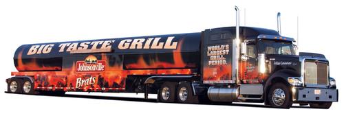 The Johnsonville Big Taste Grill Kicks Off 2014 Tour. (PRNewsFoto/Johnsonville Sausage, LLC) ...