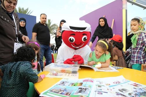 Ooredoo Qatar I Read Campaign (PRNewsFoto/Ooredoo)